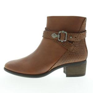 SPM - Größe 38 - Damen Stiefelette - Dunkel Braun, Größe Schuhe Erwachsene:38, Farbe SPM:Dunkel Braun
