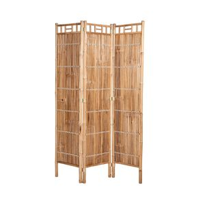 BUTLERS SAFARI Paravent aus Bambus 120 x 180 cm