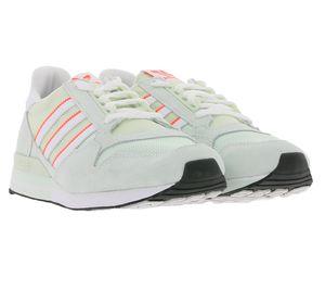 adidas Originals ZX 500 Trainings-Schuhe pastellfarbige Herren Sneaker im 80er-Stil Grün, Größe:42