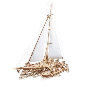 Ugears - Holz Modellbau Segelschiff Trimaran Merihobus 237 Teile