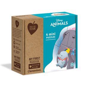 Disney mini-Puzzles Animals junior Karton 4-teilig