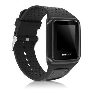 kwmobile Sportarmband kompatibel mit TomTom Runner 1 / Multi-Sport - Armband - Silikon Fitnesstracker Band