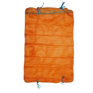 Raschelsäcke Holzsäcke Kartoffelsäcke mit Zugband in Wunschmenge, Größe:für 25.0 kg (51 cm x 80 cm), Stückzahl:50 Stück