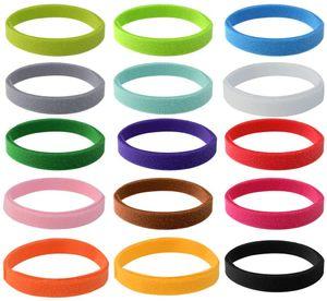 15 Stück Welpen ID Halsbänder, Einstellbar Soft Welpen Kitten Halsbänder, für Neugeborene Haustiere15 Farben