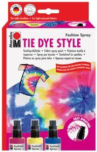 "Marabu Textilsprühfarbe ""Fashion-Spray"" Set TIE DYE STYLE"