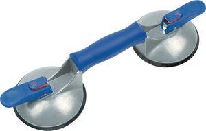 Bohle Saugheber Tragfähigkeit Breite 50 kg senkrecht,Kopf-Durchmesser 120mm 2-Kopf Aluminium-Körper - 602.02BL
