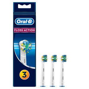 Oral-B Tiefenreinigung Aufsteckbürsten für elektrische Zahnbürsten, 3 Stück