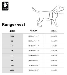 Hurtta Ranger Weste Signalweste in div. Farben und Größen, Farbe:orange-gelb, Größe:XXL