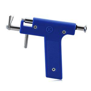 Edelstahl Piercing Tool Kit Professionelle Ohr Nasenpiercing Maschine mit Ohrstecker Werkzeuge
