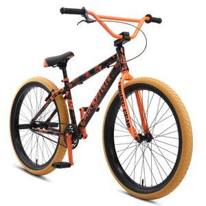 SE Bikes Blocks Flyer 26 Zoll Cruiser BMX Fahrrad Singlespeed Bike, Farbe:orange, Rahmengröße:38 cm
