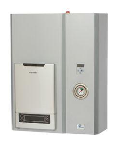Elektrokessel  Zentralheizung 4 bis 12 kW + Durchlauferhitzer 18 kW 400V : Leistung - 4 kW