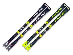 Ski Fischer RC4 Worldcup SC Pro Modell 2021 + Bindung RC4 Z13 Freeflex, Farbe:Gelb, Länge:160cm