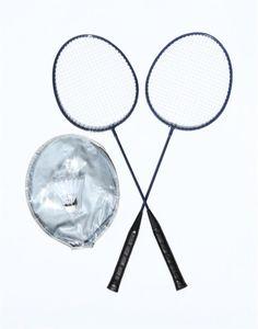 Happy People badminton-Set 65 cm grau/orange 4-teilig