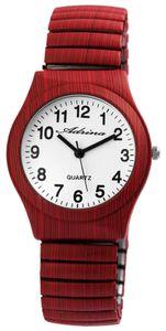 Adrina Damen - Armbanduhr Zugarmband Analog Quarz Metall Armbanduhr 1700045 : 9 Farbe: 9