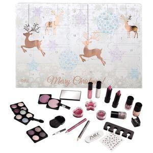 Adventskalender Zmile Cosmetics Kosmetik 2020 Rentiere roségold NEU TOP