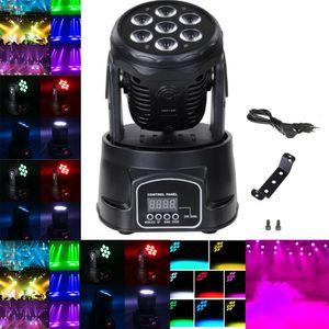 Disco Licht DMX RGBW LED Buehnenlicht Moving Head Beam Party Lichter DMX-512 LED DJ Weihnachten Weihnachten Sound Active LED Par DJ Licht