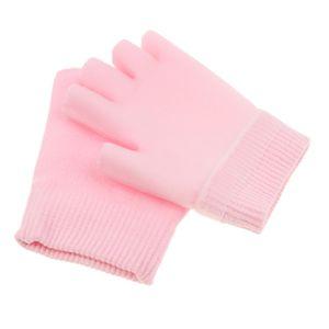 1 Paar fingerlose Handschuhe Farbe Rosa