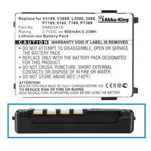 Akku kompatibel mit Motorola SNN5517A - für v3688 V50 V51 V8088 V3690 T250 T260 Timeport P7389 L7089