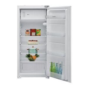 respekta Kühlschrank Einbaukühlschrank Gefrierfach Schleppscharniere 122 cm