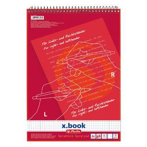 Herlitz Collegeblock / DIN A4 / für Rechts & Linkshänder / kariert