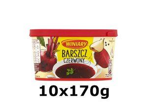 GroßhandelPL Winiary Instant roter Borschtsch ,,Barszcz'' 10x170g