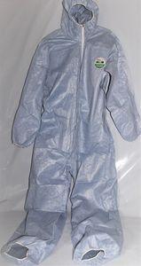 LAKELAND Einweg Overall Gr. XL Schutzanzug Einweganzug blau Anzug KAT 3 Typ 5/6, Größe:XXL