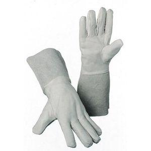 WerkzeugHERO SchweißerHandschuh Argon 5-Finger 35cm Gr.10 (Inh. 12 Paar)