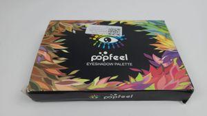 Popfeel 120 Farben Professionelle Make-up Lidschatten-Palette Set Triple-Decker Augenkontur Pulver Lidschatten-Tablett Frauen Kosmetik