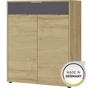 2965 BERLEBECK Grandson Alteiche Nb. Schuhschrank Kommode Garderobe Stauraum ca. 89 cm