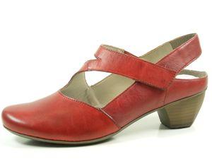 Rieker 41779 Schuhe Damen Pumps Sling Ballerinas, Größe:41 EU, Farbe:Rot