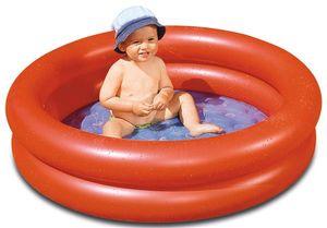 Planschbecken / Mini Pool Wehncke orange Ø100cm