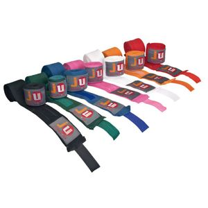 Ju-Sports Boxbandagen, elastisch, 3 m Farbe - rot