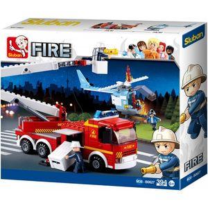 Sluban Fire Feuer-Plattform-Löschfahrzeug Hubschrauber