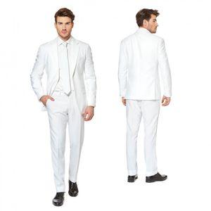OppoSuits White Knightherrenkostüm Anzug Polyester weiß Größe 52