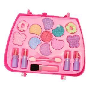 Schminksachen Schminkset Prinzessin Kosmetik-Set Mädchen Rollenspiel Spielzeug Geburtstag Geschenke