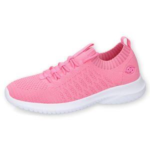 DOCKERS by Gerli Damen Sneaker Schuhe Socksneaker Slip-On, Farbe:Blau (Dunkelblau), Größe:EUR 39