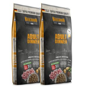 2 x 12,5 kg Belcando Adult Dinner