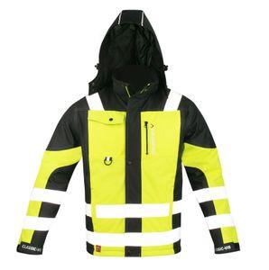 Arbeitskleidung ART.MaSter CLASSIC-VIS OXFORD schwarz/gelb Warnschutzjacke XXL