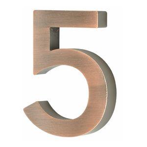 Hausnummer Scala kupfer Nr. 5