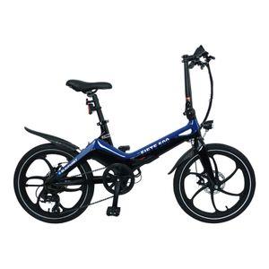 Blaupunkt Fiete 500 | Falt-E-Bike, Designbike, Klapprad, StVZO, 20 Zoll, leicht