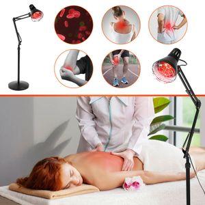 275W Infrarotlampe Rotlichtlampe Wärmelampe Tpielampe Schmerztpie Stand Massagelampe TOLL