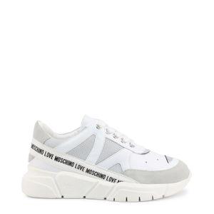 Love Moschino - Schuhe - Sneakers - JA15323G1CIU1-01A - Damen - gainsboro,white - EU 38