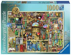 1000 Teile Ravensburger Puzzle Colin Thompson Magisches Bücherregal 2 19418