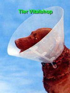 Buster Anti Lick Anti Bite Clic Dog Collar Kragen 25cm verstellbar Transparent