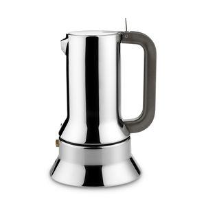 ALESSI Espressokocher 9090 silber Edelstahl 9090