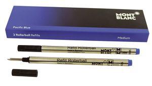 Tintenrollermine - M, pacific blue, 2 St.