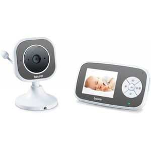 Beurer BY 110 Video-Babyphone, Farbe:Weiß