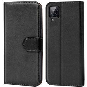 Book Case für Samsung Galaxy A12 / M12 Hülle Tasche Flip Cover Handy Schutz Hülle