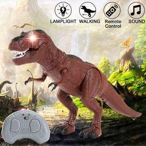 RC Tyrannosaurus gehender Dinosaurier Licht&Sound Kinder Spielzeug Fernbedienung