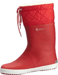 Aigle Giboulee Stiefel rot/weiß Gr. 24